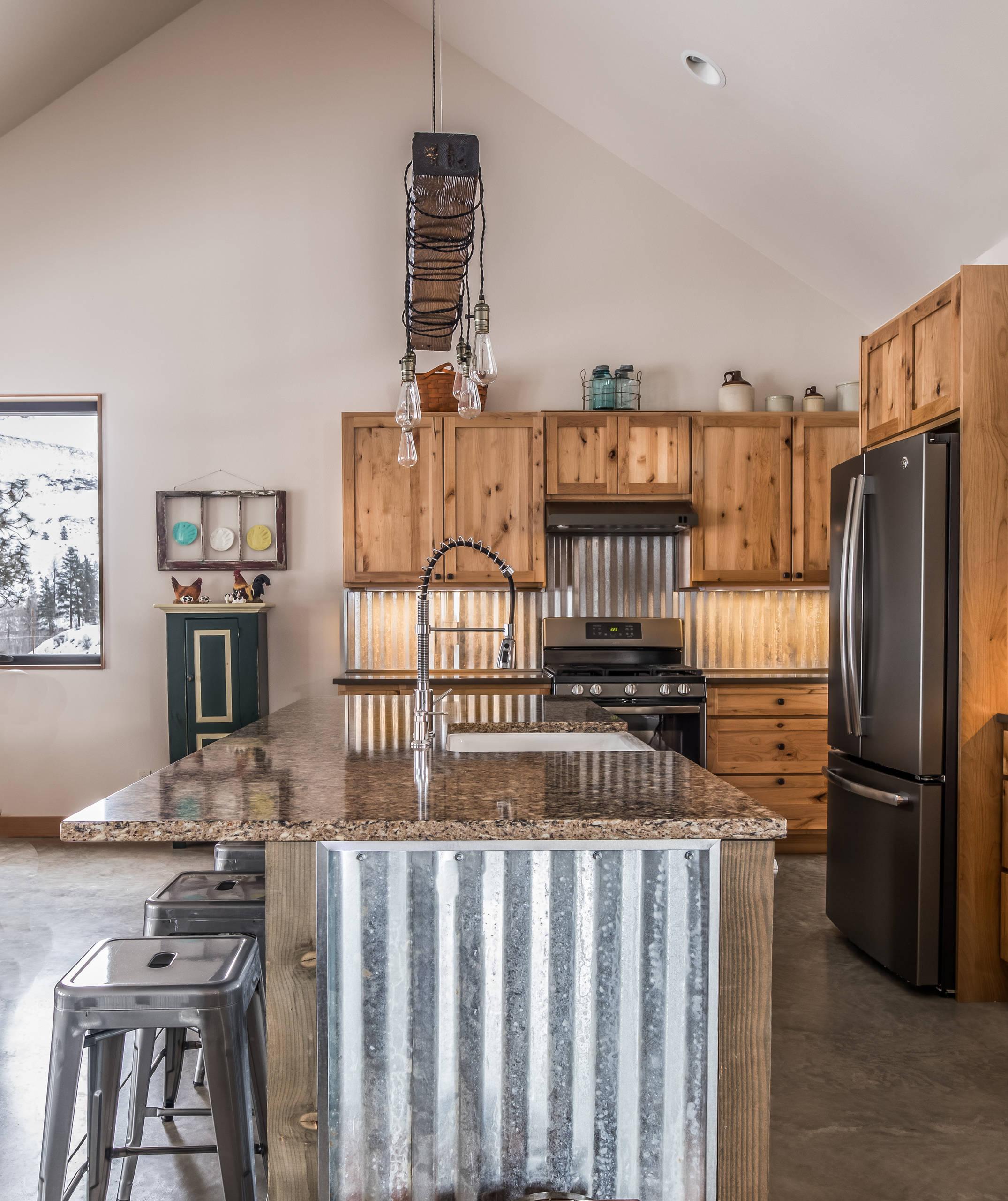 Corrugated Metal Kitchen Ideas Photos Houzz