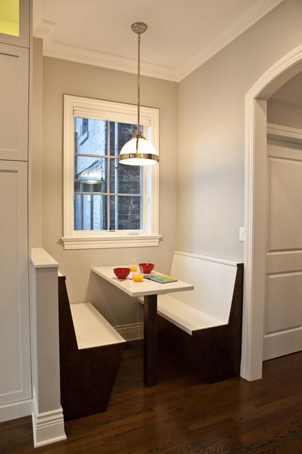 Benson Residence transitional-kitchen