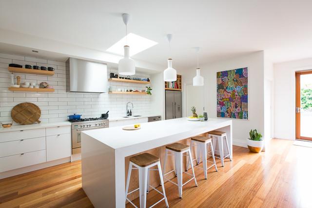 Bentleigh Californian Bungalow Scandinavian Kitchen Melbourne By Bask Interiors Houzz Au