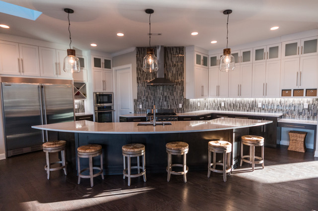 Bentonville new build eclectic kitchen other metro for Accents salon bentonville ar
