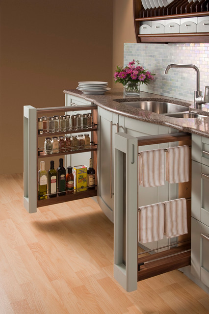 Storage Ideas traditional-kitchen