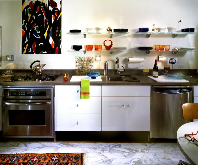 Modern Art - Contemporary - Kitchen - New York - by The Hammer & Nail, Inc.