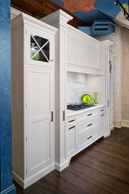 Classic White Traditional Kitchen Other Metro By