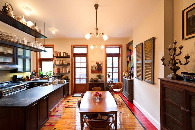 Bergen Street Residence traditional-kitchen