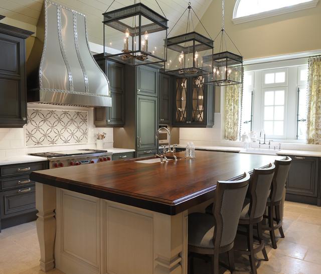 Bergman House traditional-kitchen