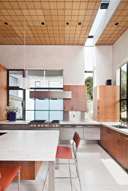 Berkeley courtyard house contemporary kitchen san for Kitchen cabinets berkeley