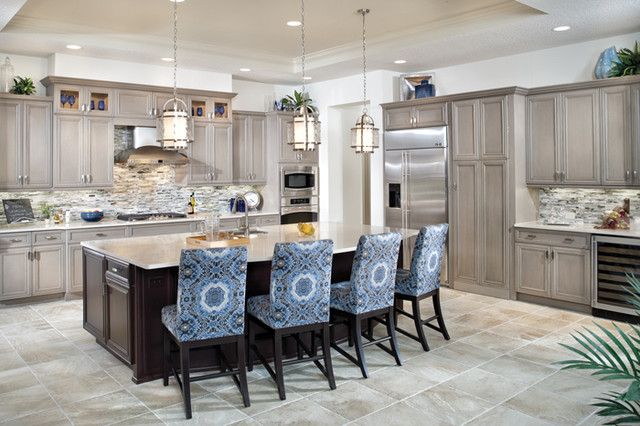 Bermuda 1216 Eclectic Kitchen Tampa By Arthur Rutenberg Homes