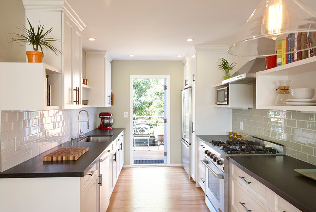 Bernal heights residence transitional kitchen san - Limpressionnante residence bernal heights san francisco ...