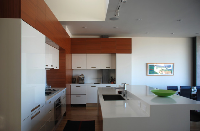 Bernal Residence modern kitchen