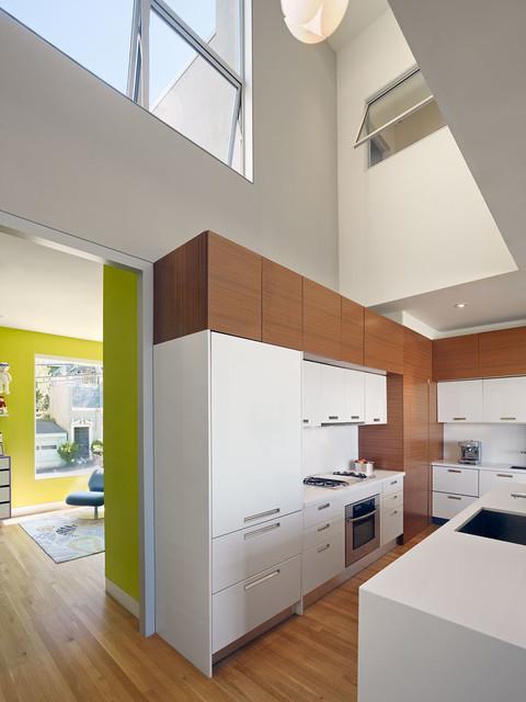 Bernal Residence modern-kitchen