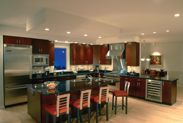 Bertch Cabinetry Modern Kitchen