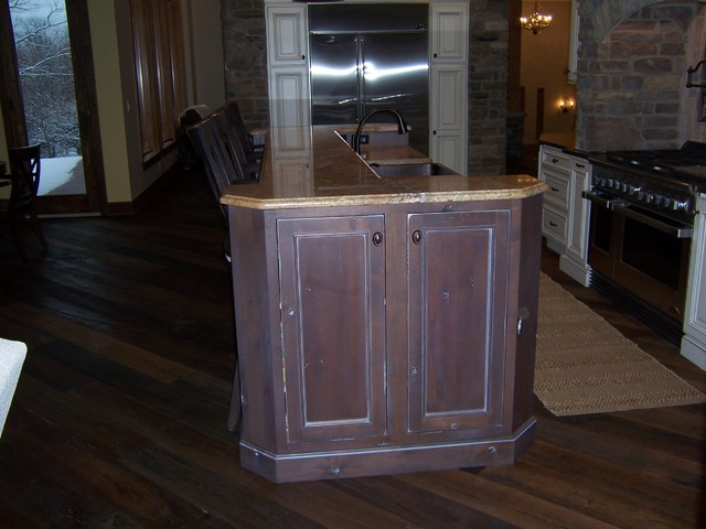 Rustic Alder Diamond Cabinets Products on Houzz