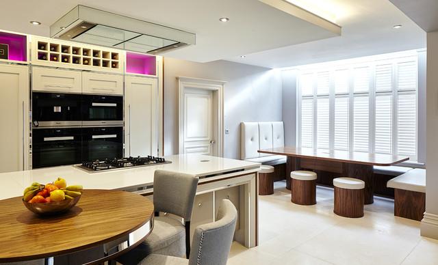 Bespoke Kitchen Bar And Furniture In Alsager Harrison Collier Contemporary Kitchen