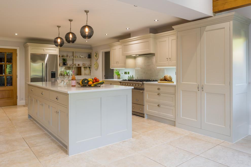 Bespoke Modern Country Kitchen Farmhouse Kitchen Hertfordshire By Philip Clay Kitchen Designs Ltd Houzz