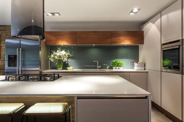 Bespoke New Basement Kitchen Kingston London