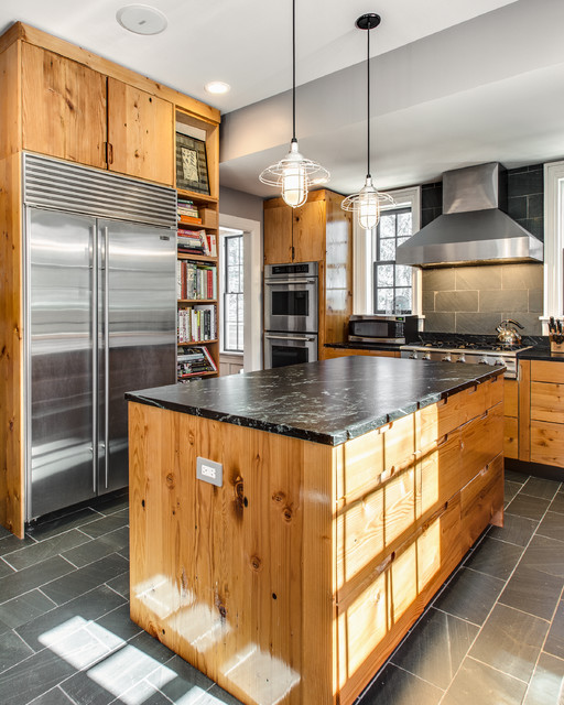 Best cabinets rustic kitchen dallas by signature for Houzz magazine