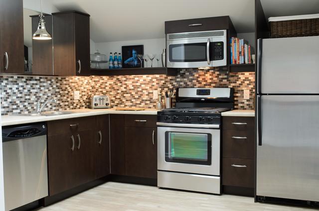 Best Garage Apartment Addition Traditional Kitchen