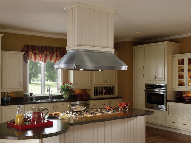 Kitchen Island Hoods best range hoods: centro island hood with drywall finish trim kit