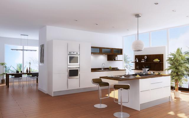 BEST Sorpresa Collection: Sphera in White contemporary-kitchen