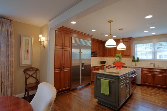 Bethesda Kitchen Traditional Kitchen DC Metro By David Vogt Case De