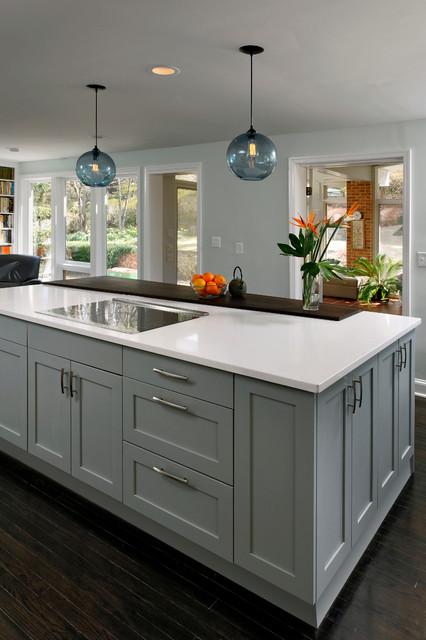 Bethesda Maryland Contemporary Pavilouchenko Kitchen Design Contemporary