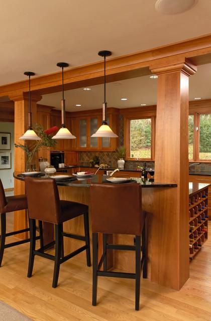 bethesda maryland craftsman skolnick kitchen craftsman kitchen dc metro by jennifer. Black Bedroom Furniture Sets. Home Design Ideas