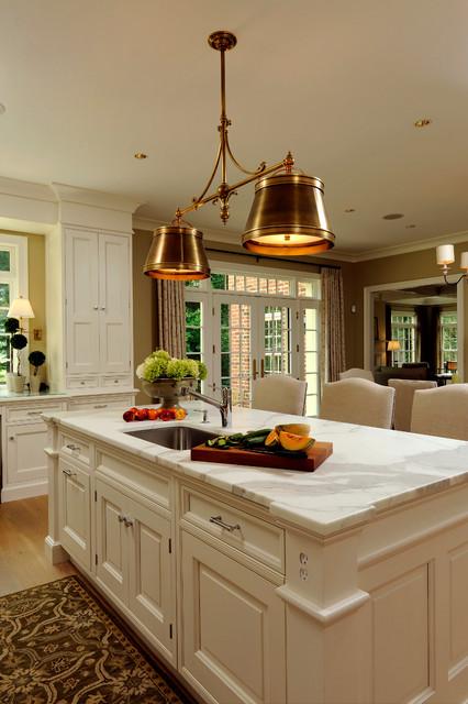 Bethesda, Maryland Traditional Rozansky Kitchen Design - Traditional ...
