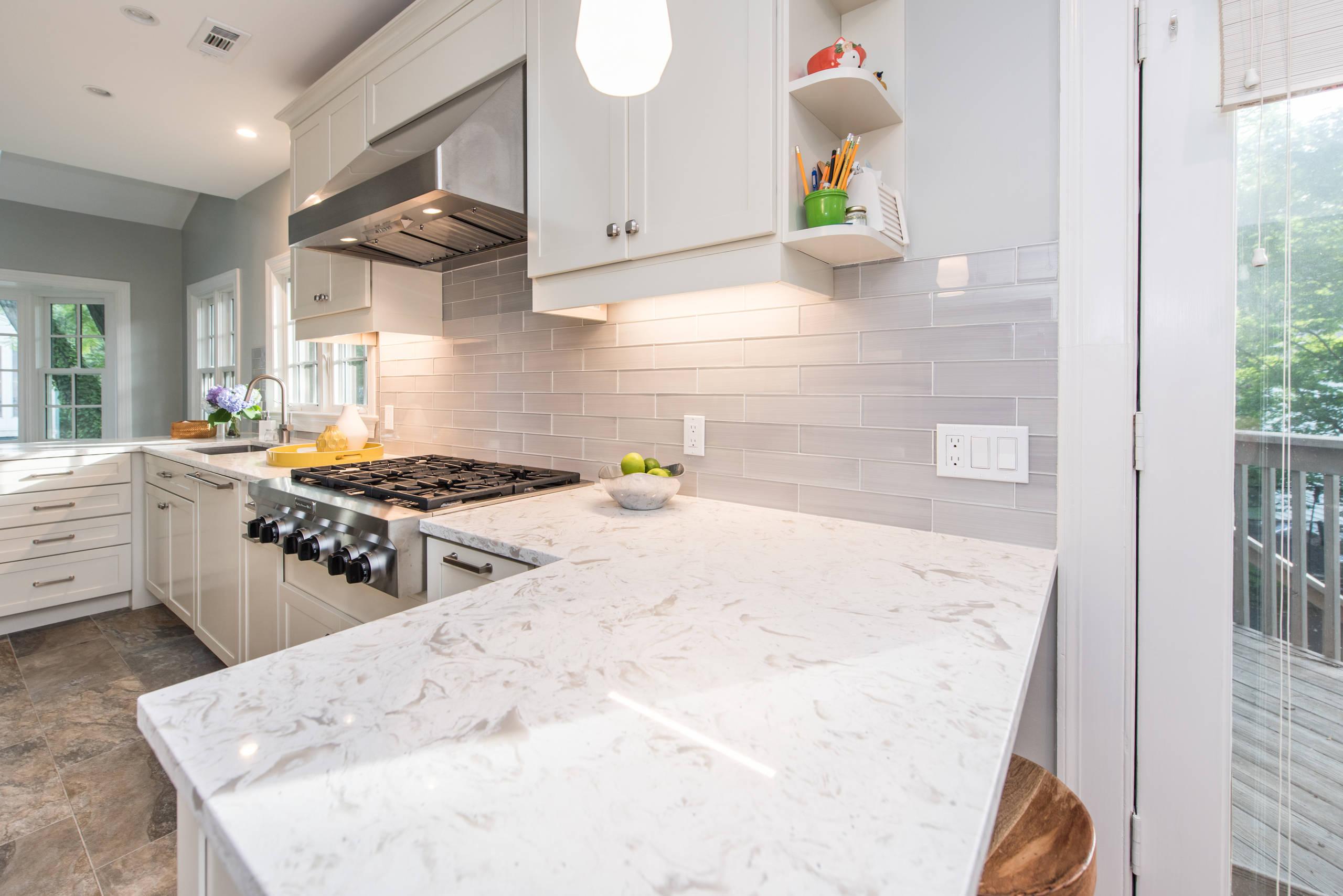 Bethesda, MD Contemporary Galley Kitchen