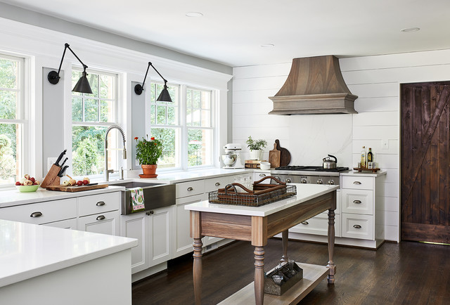 Bethesda, MD: Kitchen Remodel - Farmhouse - Kitchen - DC Metro - by ...