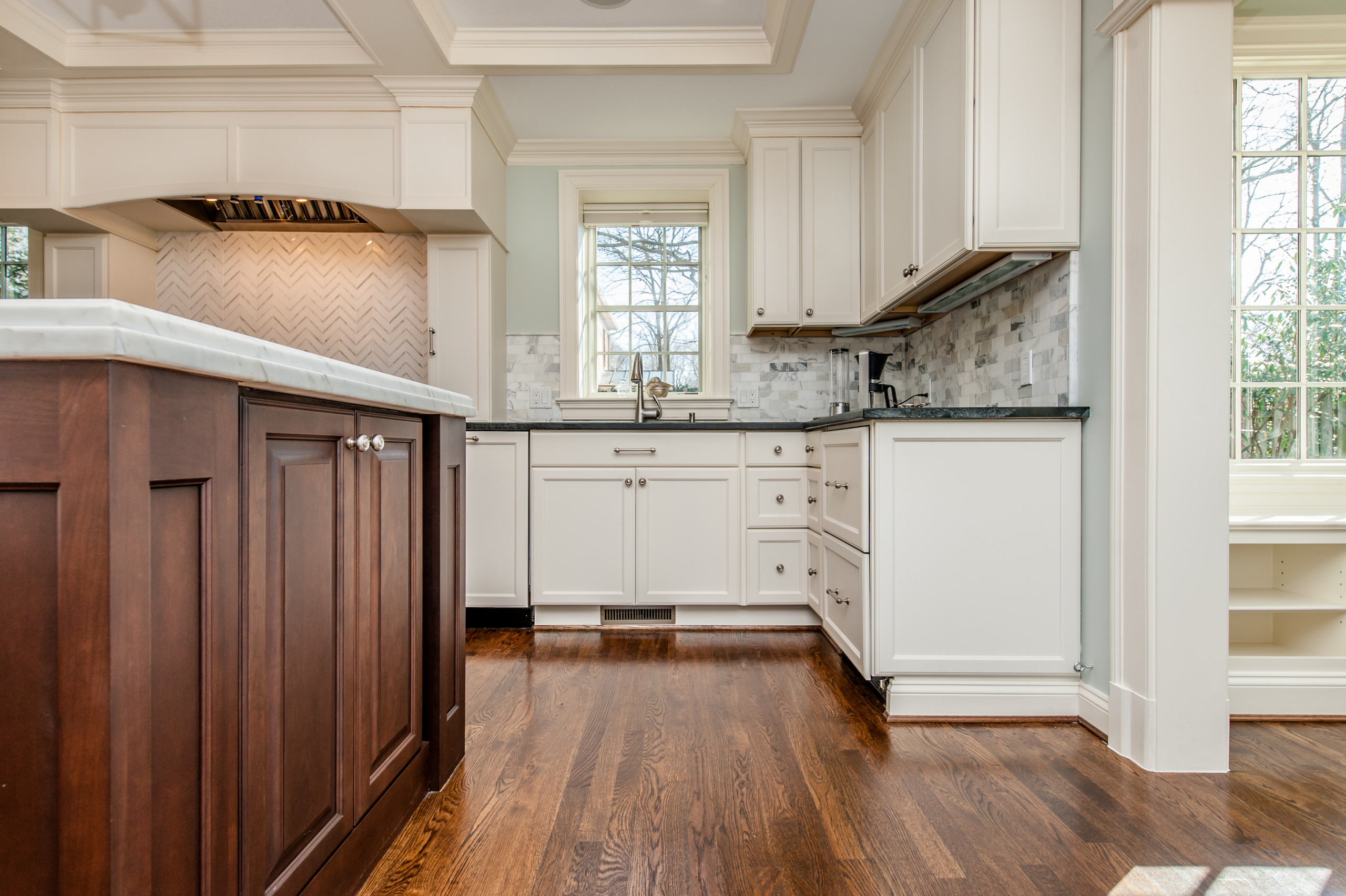 Bethesda, MD Luxury Transitional Kitchen & House Remodel