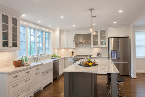are the quartz countertops viatera rococo what is the backsplash