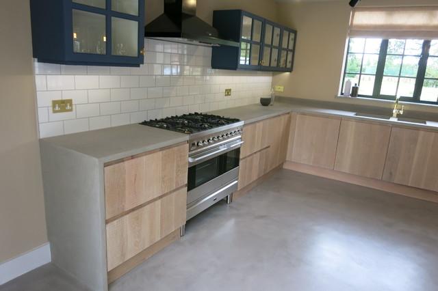 beton cire flooring work surfaces and bathroom wetroom. Black Bedroom Furniture Sets. Home Design Ideas