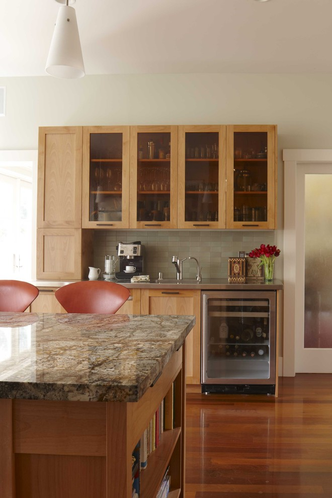 Beverage Center Transitional Kitchen San Francisco By Andre