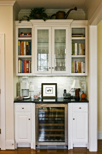 Beverage Center - Traditional - Kitchen - other metro - by Frenchs Cabinet Gallery llc