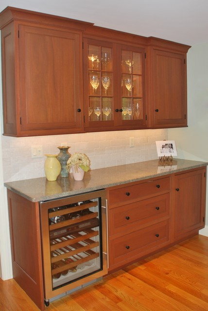 Beverage Centers Traditional Kitchen Boston By