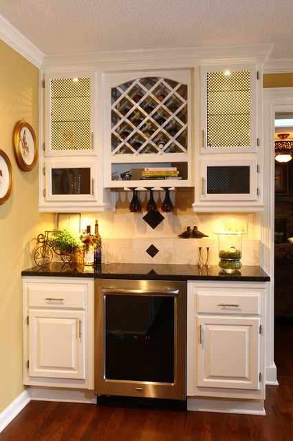 Beverage Station Traditional Kitchen Kansas City