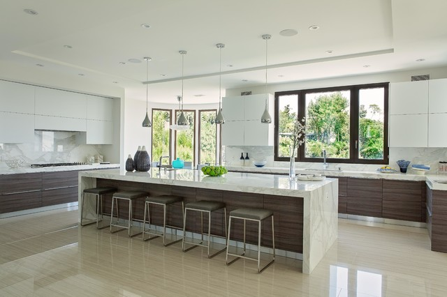 Beverly Hills, CA - Contemporary - Kitchen - los angeles ...