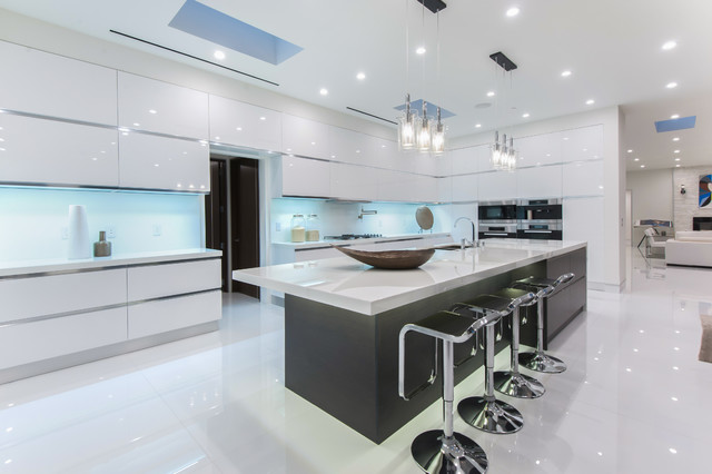 Beverly Hills Luxury Living Contemporary Kitchen Los
