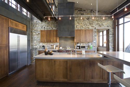 Rustic Modern Kitchen Ideas eight elements of perfect rustic kitchens - abode