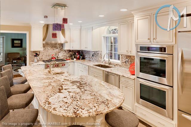 Bianco Kitchen : Bianco Antico Granite Kitchen Marble.com - Contemporary - Kitchen ...