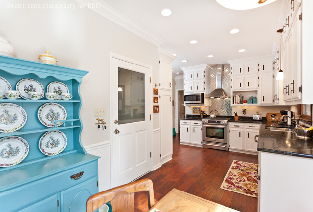 Bickley Design Build Renovations - Traditional - Kitchen - other metro - by Robin Gatti Photography