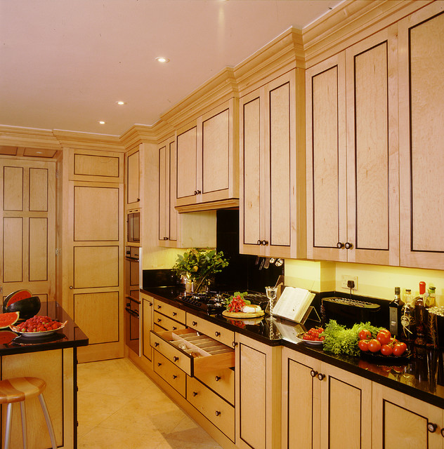birdseye maple kitchen cabinets biedermeier kitchen traditional kitchen by 12301
