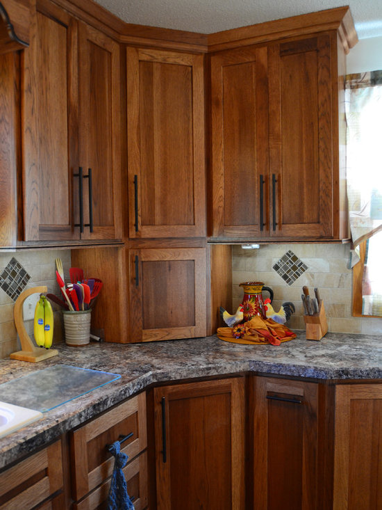 Showplace Hickory Cabinets Home Design Ideas, Pictures, Remodel and Decor