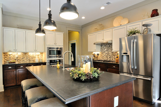 Big Canoe Model Homes Contemporary Kitchen Atlanta