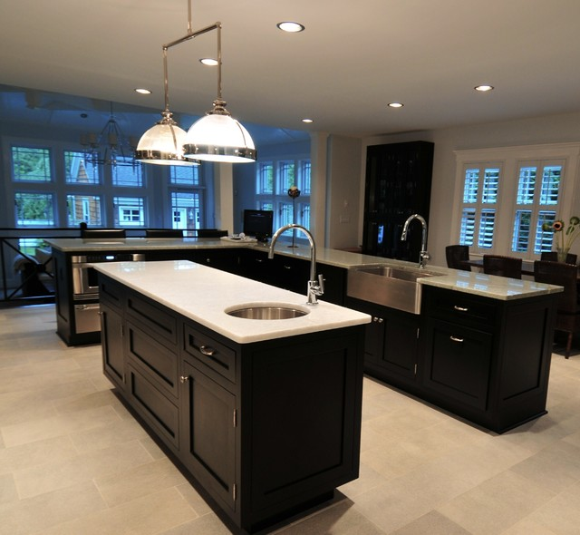 """Big Changes"" made to a Traditional Home at the Jersey Shore traditional-kitchen"