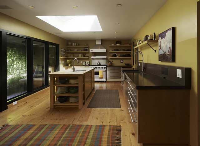 Big Ranch Kitchen Contemporary Kitchen Other By Poor House Interior Design