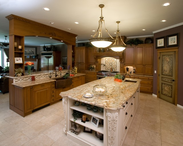 bigger islands and more cabinets contemporary kitchen