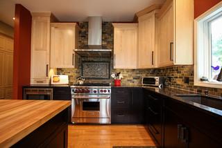 Bill & Joan's Kitchen - Transitional - Kitchen - Detroit ...
