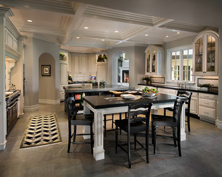 Biltmore Estate - Traditional - Kitchen - Phoenix - by Calvis Wyant Luxury Homes