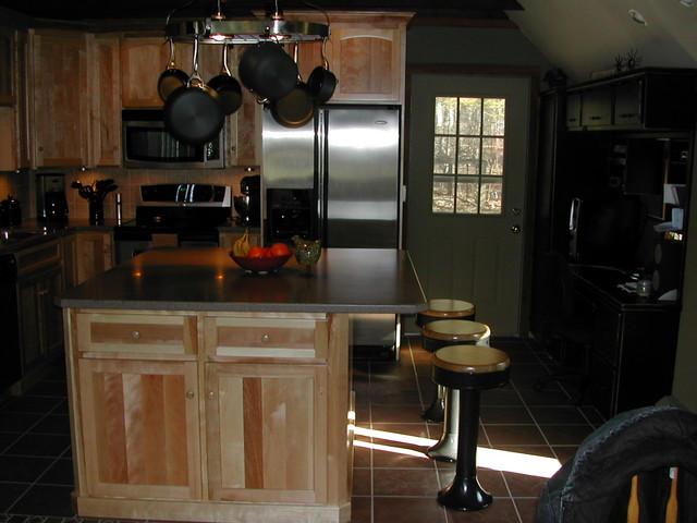Birch kitchen traditional-kitchen